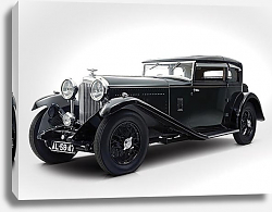 Постер Bentley 8 Litre Short Chassis Mayfair Fixed Head Coupe '1932