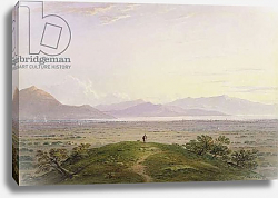 Постер Варлей Джон The Plains of Marathon, 1834