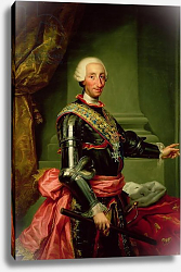 Постер Менгс Антон Portrait of Charles III c.1761