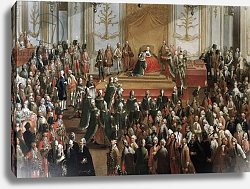 Постер Мейтенс Мартин Maria Theresa at the Investiture of the Order of St. Stephen, 1764