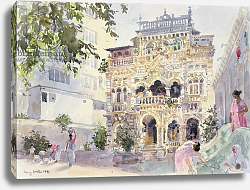 Постер Виллис Люси (совр) House on the Hill, Bombay, 1991