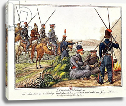 Постер Школа: Австрийская 19в. Don Cossacks in 1814