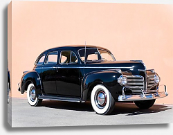 Постер Dodge Custom Town 'Luxury Liner' Sedan (D19) '1941