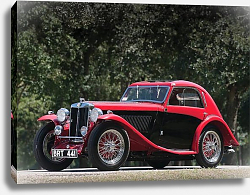 Постер MG NB Magnette Airline Coupe by Allingham '1935