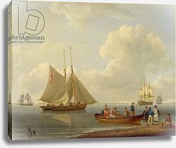 Постер Андресон Уильям A Wherry Taking Passengers out to Two Anchored Packets, 1825