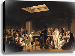 Постер Бойли Луи A Game of Billiards, 1807