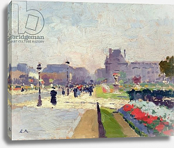 Постер Рену Жюль Avenue Paul Deroulede, Tuileries, Paris