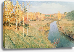 Постер Левитан Исаак Golden Autumn, 1895