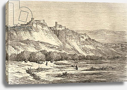 Постер Доре Гюстав Arcos de la Frontera, Cadiz, illustration from 'Spanish Pictures' by the Rev. Samuel Manning