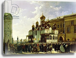 Постер Бодри Карл Easter procession at the Maria Annunciation Cathedral in Moscow, 1860