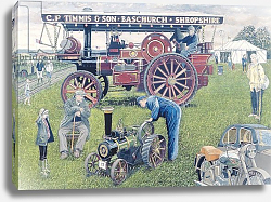 Постер Парсонос Хью (совр) Traction Engines at the Show, 1993