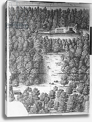 Постер Холлар Вецеслаус (грав) Boscobel House and Park, 1651