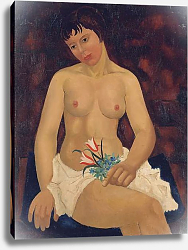 Постер Вуд Кристофер Nude with Tulips, 1927