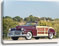 Постер Chrysler Town&Country Convertible '1946