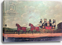 Постер Корди Джон The Dartford, Crayford and Bexley Stagecoach