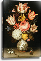 Постер Боссшорт Амброзиус Still Life with Flowers 3