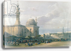 Постер Робертс Давид Mosque of the Sultan Hasan from the Great Square of Rumeyleh, Cairo, from