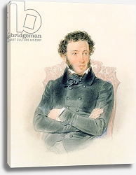 Постер Соколов Петр Portrait of Alexander Pushkin 1836