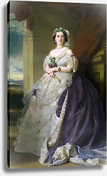 Постер Винтерхальтер Франсуа Portrait of Lady Middleton, 1863