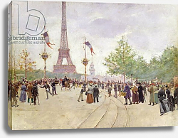 Постер Бакст Леон Entrance to the Exposition Universelle, 1889