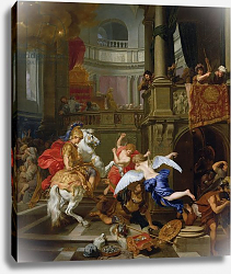 Постер Лайресс Геральд The Expulsion of Heliodorus from the Temple, 1674