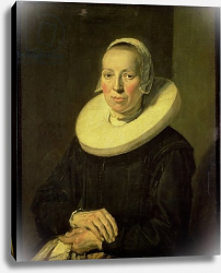 Постер Халс Франс Portrait of a woman, 1644