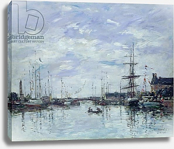 Постер Буден Эжен (Eugene Boudin) Deauville, the Dock, 1892