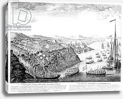 Постер Школа: Английская 18в. A View of the Taking of Quebec, September 13th 1759 2