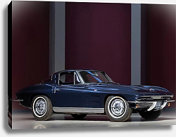 Постер Corvette Sting Ray (C2) '1963
