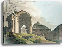 Постер Даниель Томас (грав) The Ruins of the Palace at Madurai, 1798