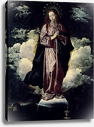 Постер Веласкес Диего (DiegoVelazquez) The Immaculate Conception, c.1618
