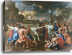 Постер The Adoration of the Golden Calf