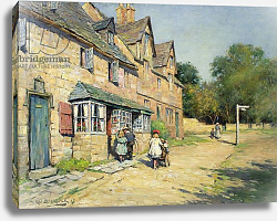 Постер Блэклок Уильям Cotswold village, 1917