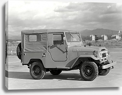 Постер Toyota Land Cruiser 40 (BJ40LV) '1960–67
