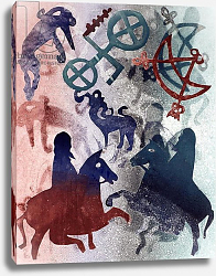 Постер Уоллингтон Глория (совр) Pictish Riders, 1996