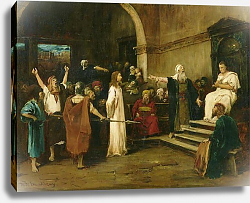 Постер Мункачи Михай Christ Before Pilate, 1880