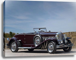 Постер Duesenberg SJ Convertible Coupe by Murphy '1935