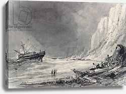 Постер Картер Генри A Wreck off Speeton Cliffs, Yorkshire