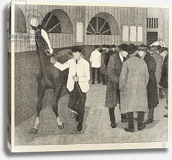 Постер Бевэн Роберт Horse Dealers at the Barbican, 1921