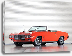 Постер Pontiac Firebird 400 Ram Air III Convertible '1969