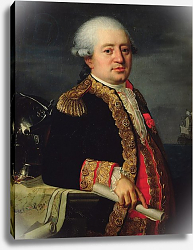 Постер Лефевр Робер Portrait of the Comte de La Couldre de La Bretonniere