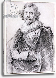 Постер Дик Энтони Portrait of Lucas Vorsterman, c.1631