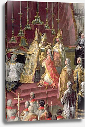 Постер Мейтенс Мартин The Coronation of Joseph II as Emperor of Germany in Frankfurt Cathedral, 1764 2