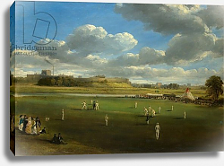 Постер Бау Самуэль Cricket Match at Edenside, Carlisle, c.1844
