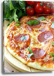 Постер Pepperoni pizza