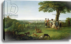 Постер Фьюри Джон One Tree Hill, Greenwich, with London in the Distance, 1779