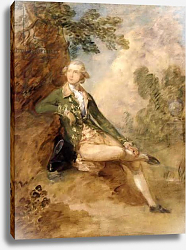 Постер Гейнсборо Томас Edward Augustus, Duke of Kent, c.1787