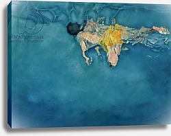 Постер Болл Гарет (совр) Swimmer in Yellow, 1990