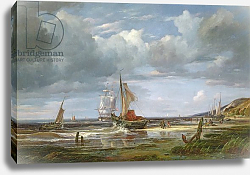 Постер Воллмер Адольф The Elbe at Blankenesee, 1844