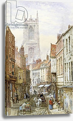 Постер Рейнер Луис A View of Irongate, Derby